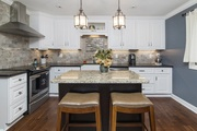 White Kitchen Cabinets - Four Less Cabinets