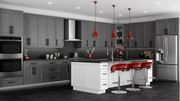 Gray Kitchen Cabinets - Four Less Cabinets